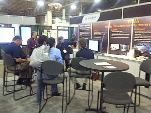IBTA & OFA Booth at SC12